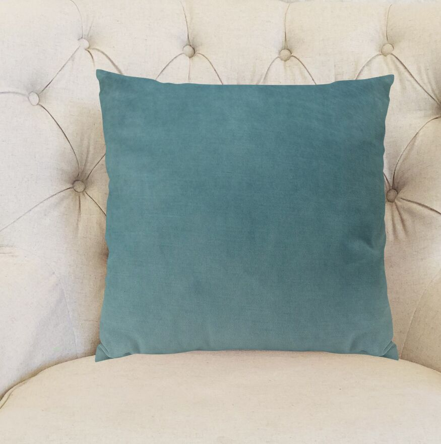 Contentment Peacock Handmade Cotton Throw Pillow  Size: 26