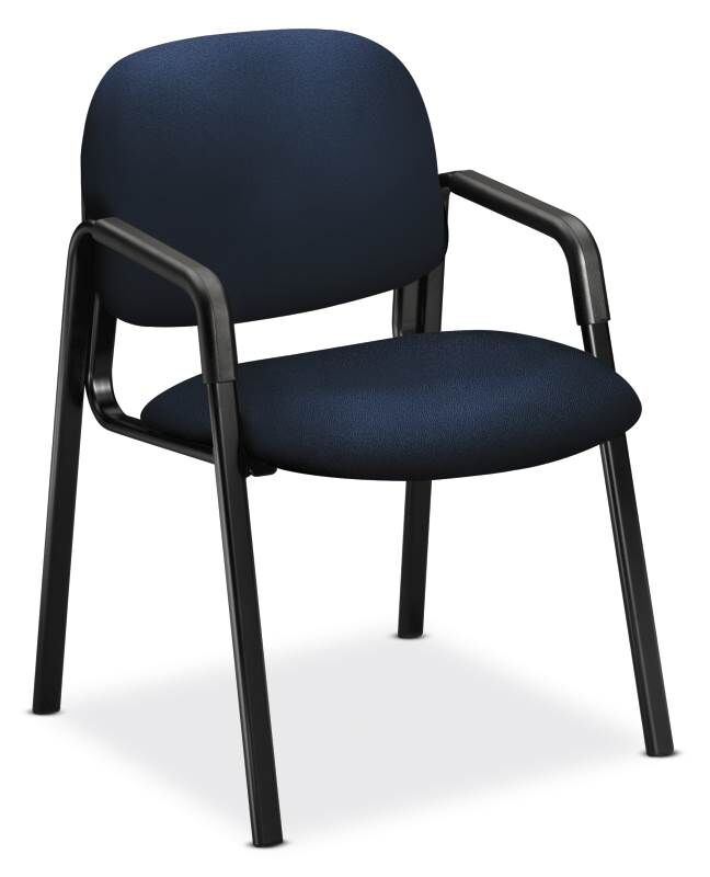 Solutions-4 Series Guest Chair Seat Color: Navy