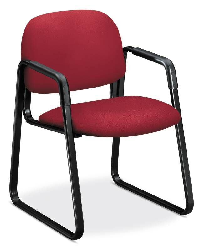 4000 Series Guest Chair Seat Color: Marsala