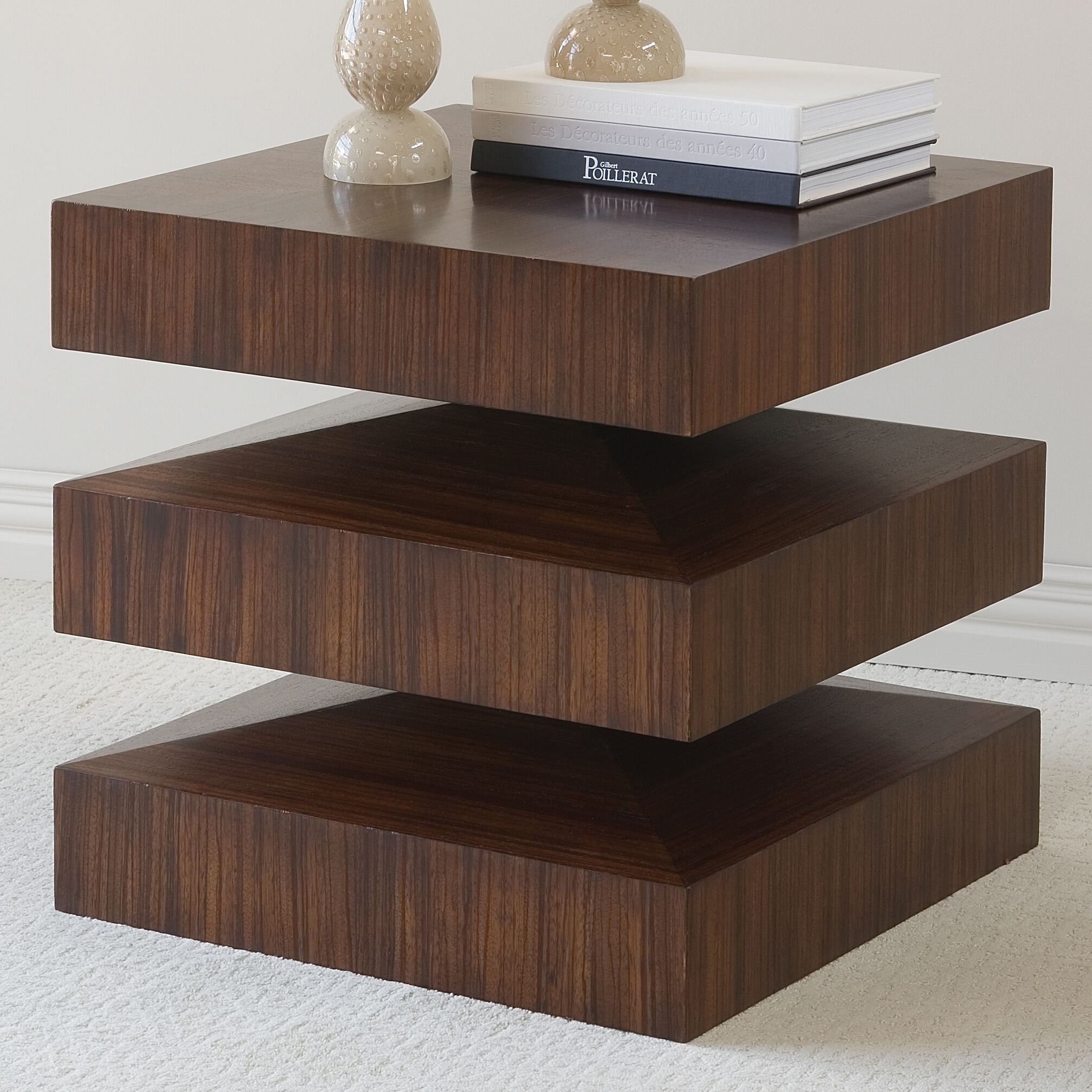 Draw Attention in and out End Table