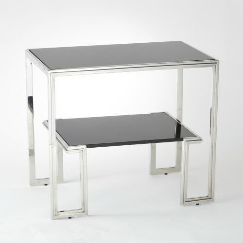 One-Up End Table Color: Stainless Steel