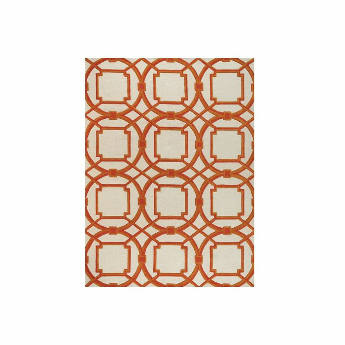 Arabesque Coral Area Rug Rug Size: Rectangle 9' x 12'