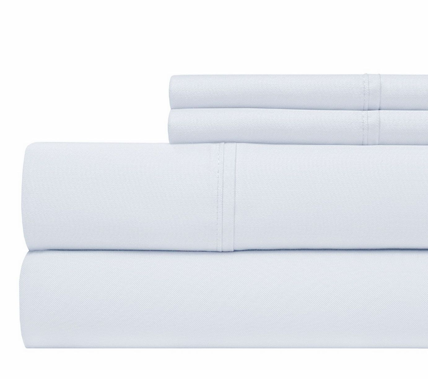 800 Thread Count 100% Cotton Sheet Set Color: Blue, Size: King
