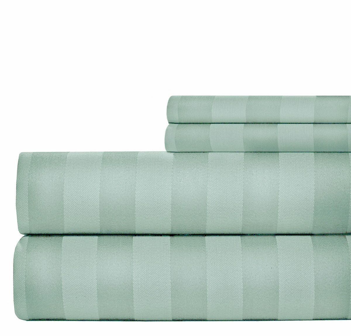 4 Piece 1000 Thread Count Sheet Set Size: Queen, Color: Blue
