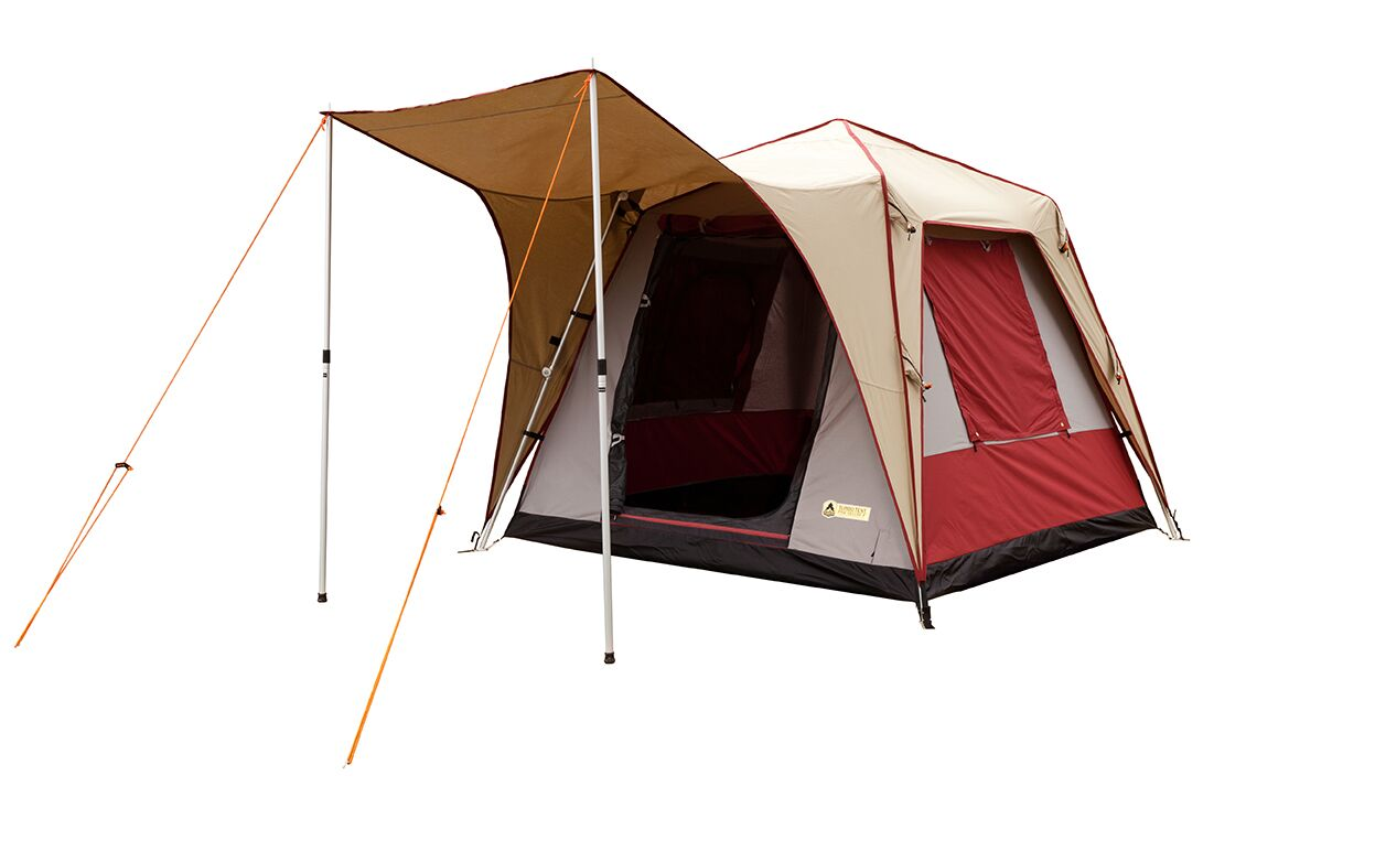 Pine Deluxe Canvas Turbo Tent Size: 6 Person