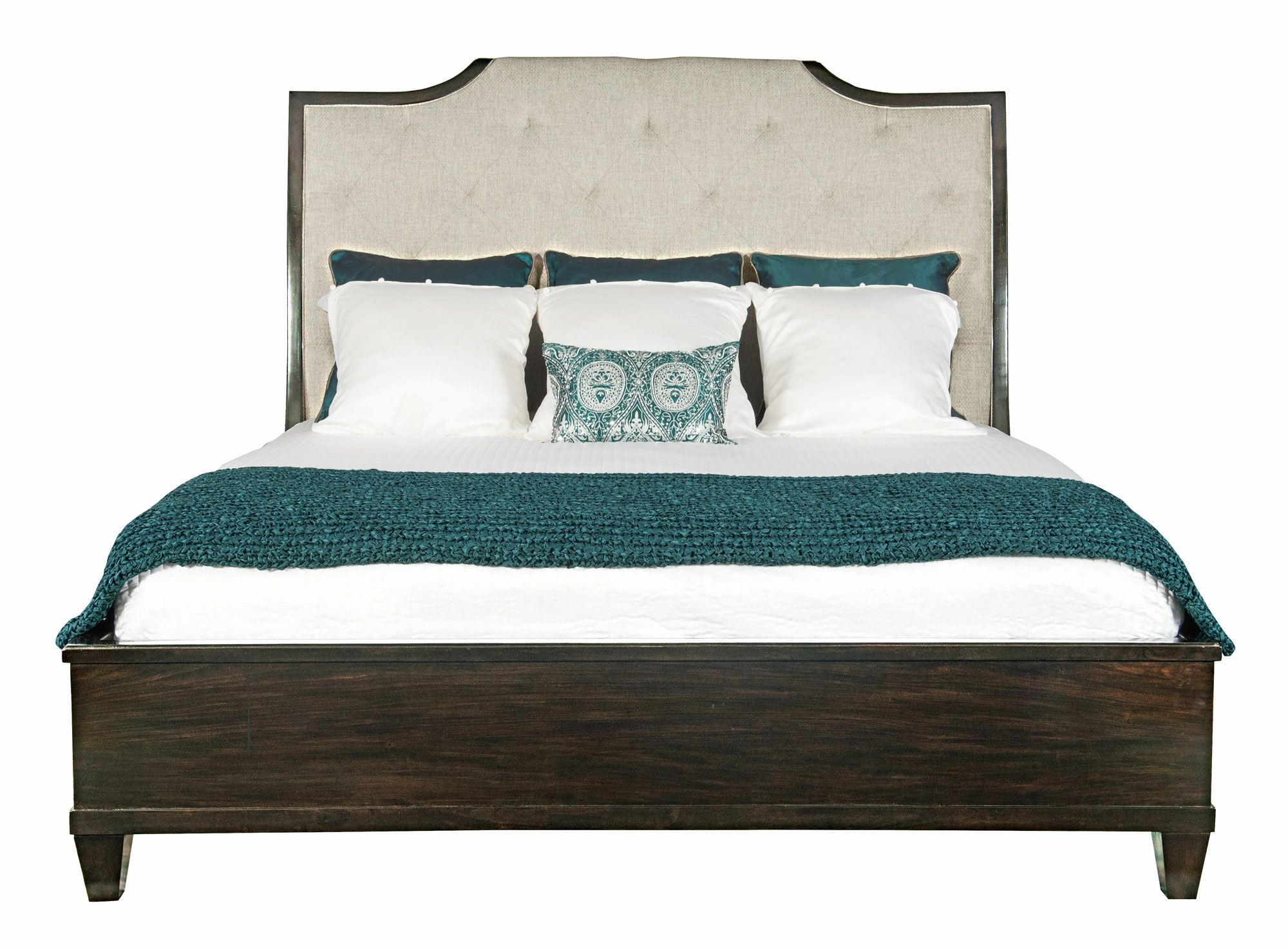 Sutton House California King Upholstered Sleigh Headboard