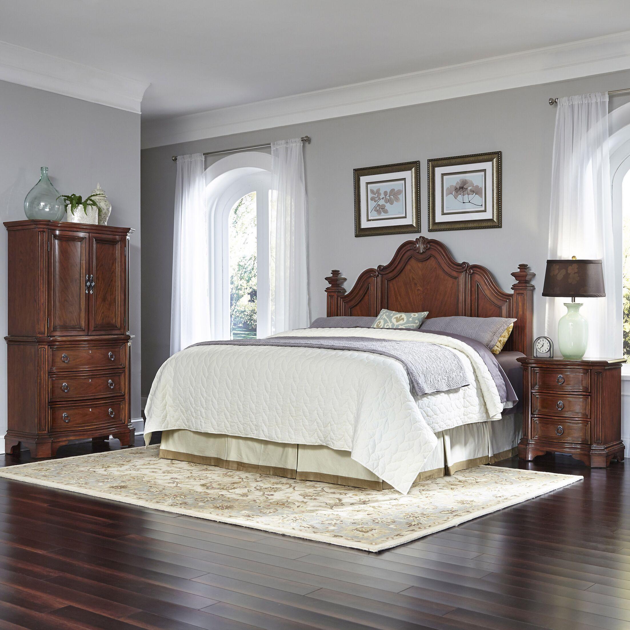 Santiago Platform 3 Piece Bedroom Set Size: King/California King