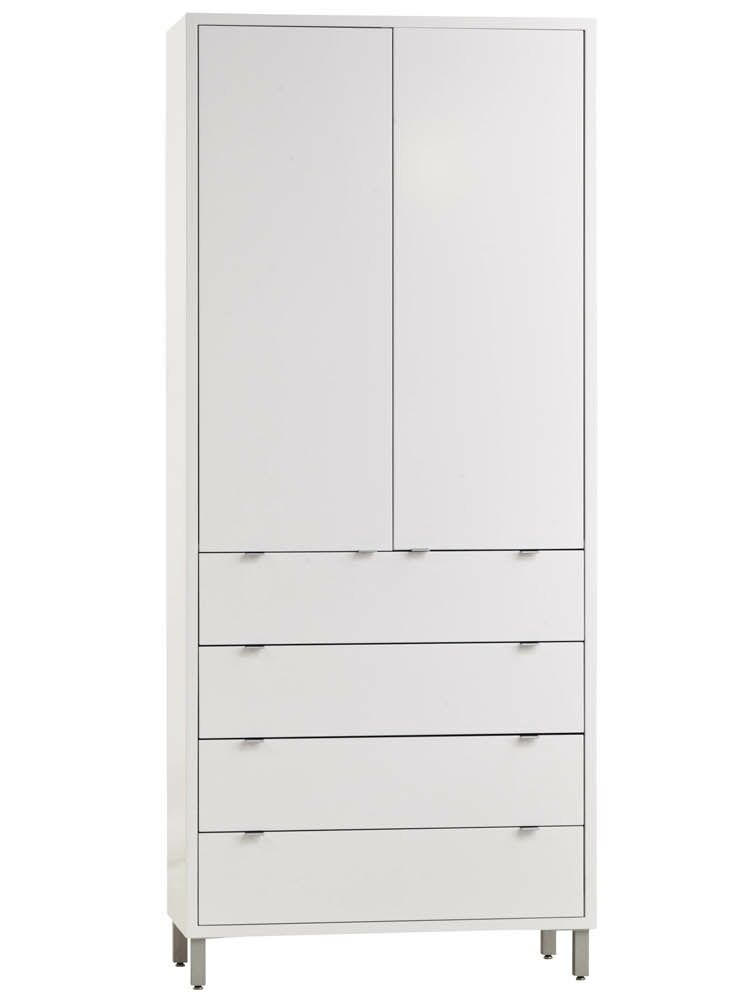 Southville 4 Drawer Armoire Color: Maple Clear