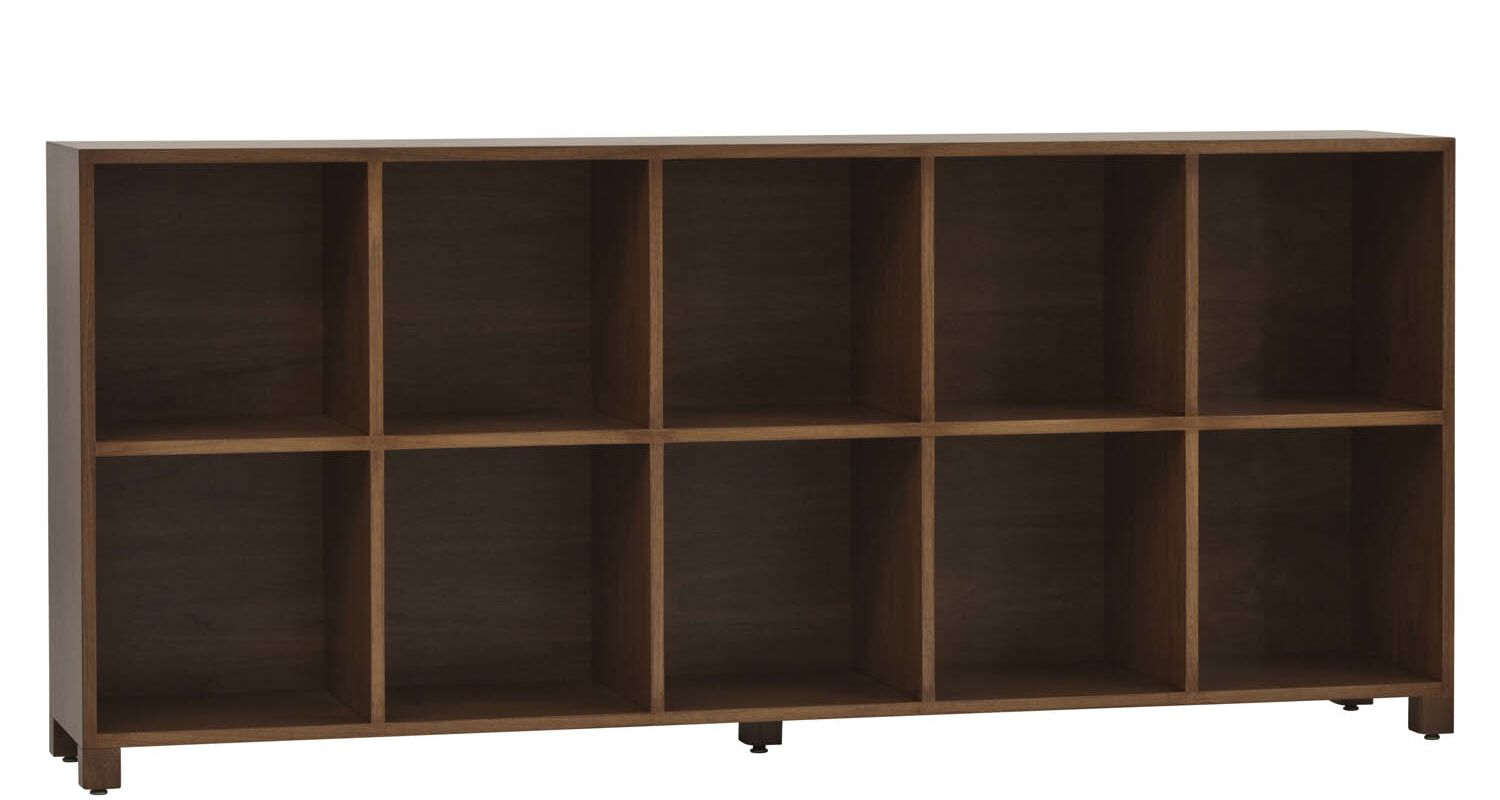 LP Horizontal Record Multimedia Cabinet Color: Maple Toffee