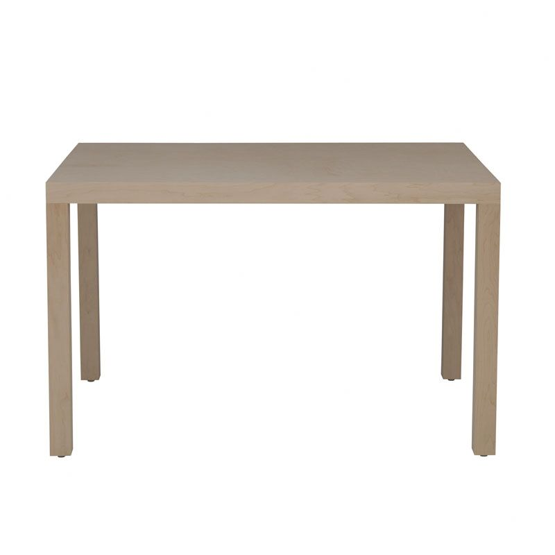 Parsons Dining Table Wood Veneer: Maple, Finish: Washed