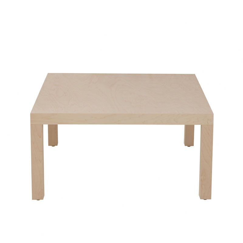 Parsons Coffee Table Color: Fuchsia, Wood Veneer: Painted Eco-MDF