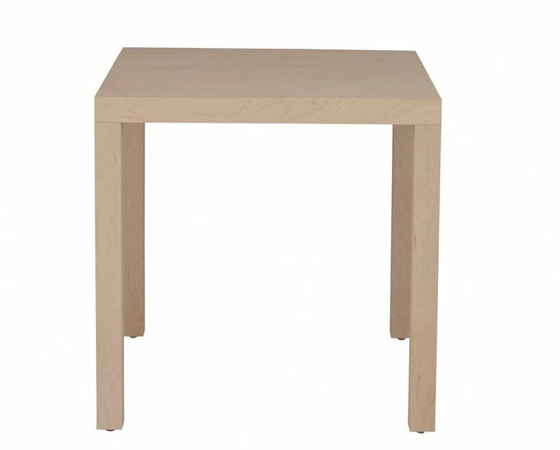 Parsons Dining Table Wood Veneer: Painted Eco-MDF, Finish: Turquoise