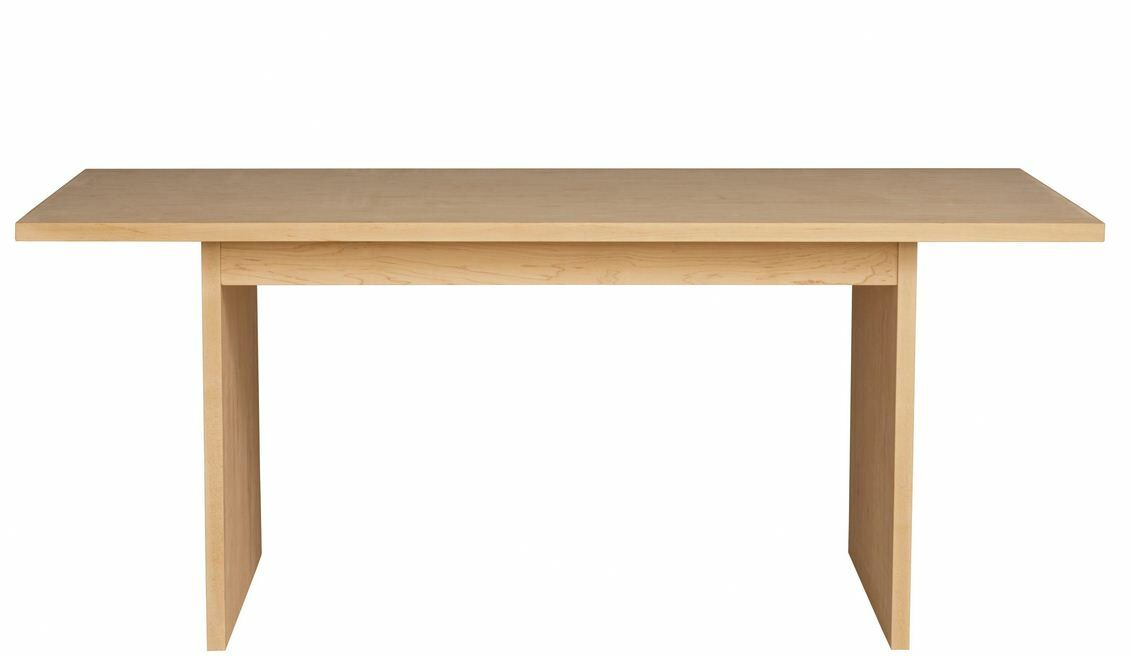 Kadon Dining Table Finish: Yellow, Wood Veneer: Painted Eco-MDF