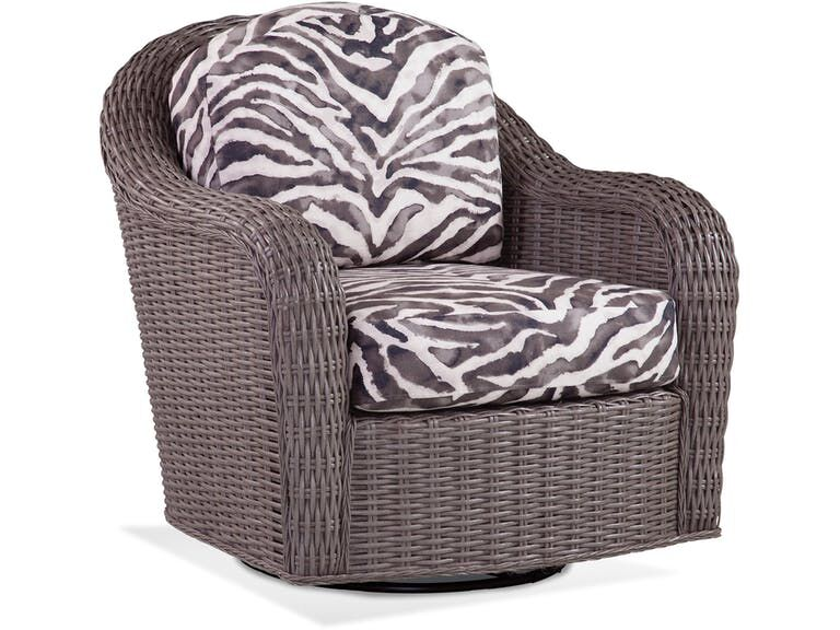 Swivel Armchair Upholstery: 0201-64/Driftwood