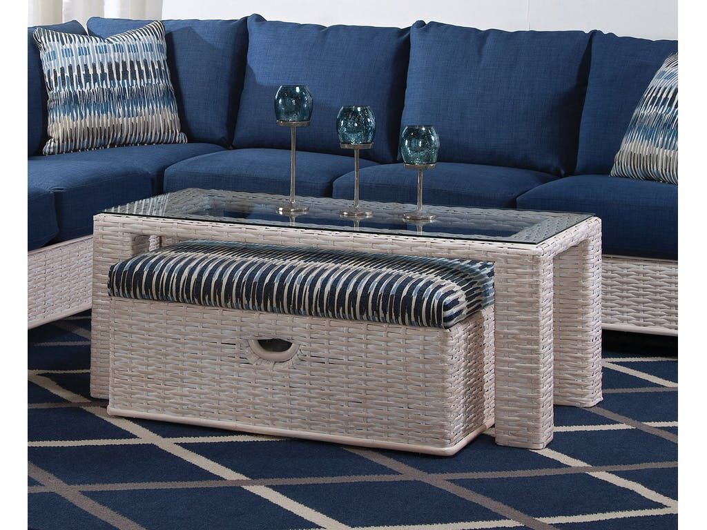 Bali Coffee Table with Bench Color: 0216-53/Java