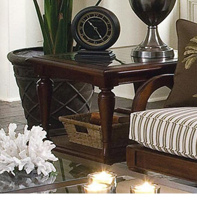 Grand View End Table Color: Driftwood