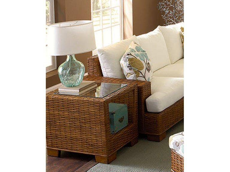 Bali End Table Color: Natural