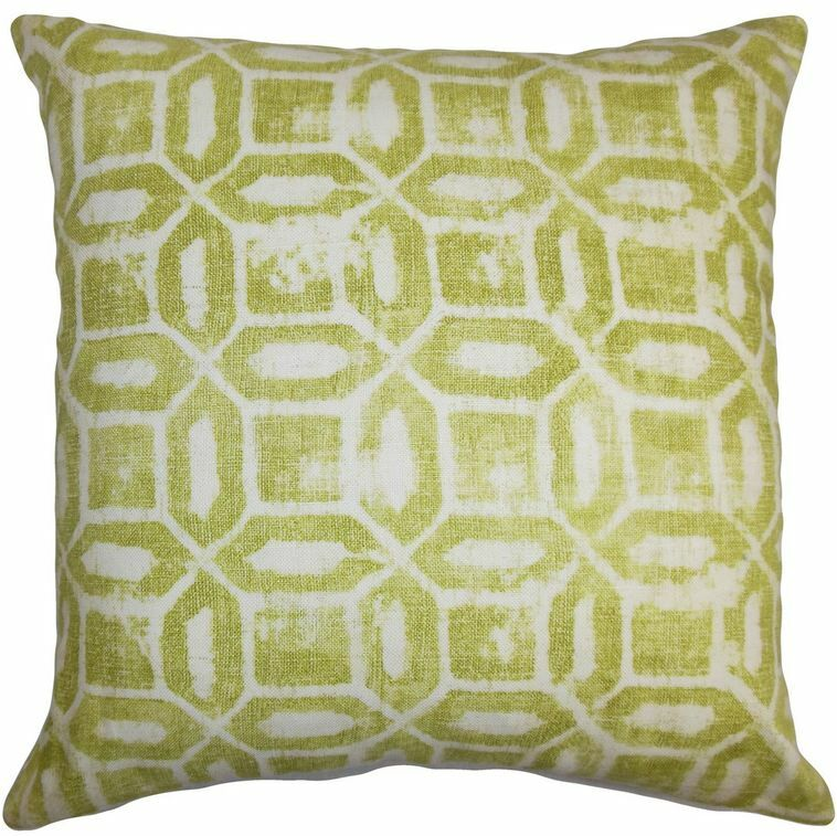 Darina Geometric Throw Pillow Size: 24
