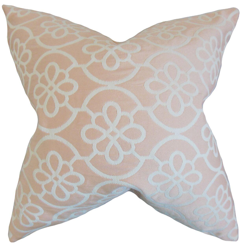 Chaplain Contemporary Geometric Bedding Sham Size: Standard, Color: Pastel