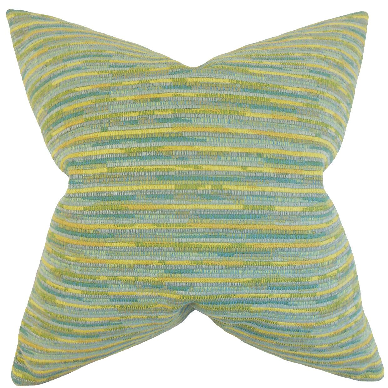 Bunnell Stripes Bedding Sham Size: Queen, Color: Sea Glass