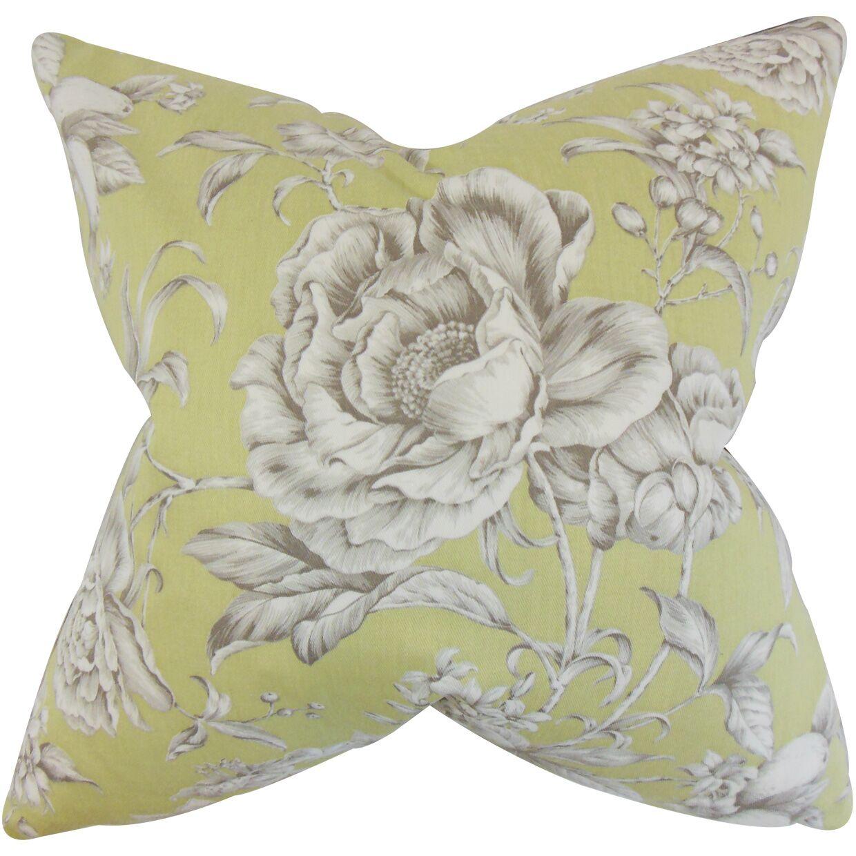 Desi Floral Bedding Sham Size: Standard