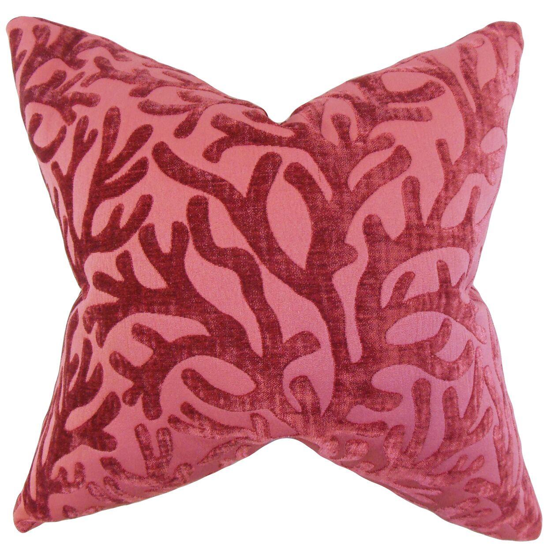 Twilla Coral Bedding Sham Size: Standard