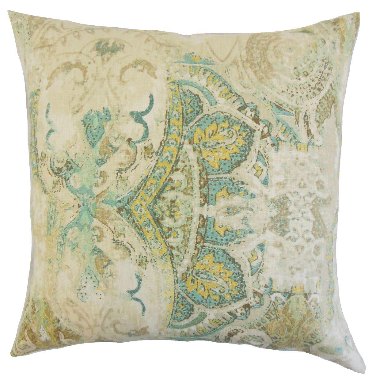 Havilah Floral Bedding Sham Size: Standard, Color: Seahorse