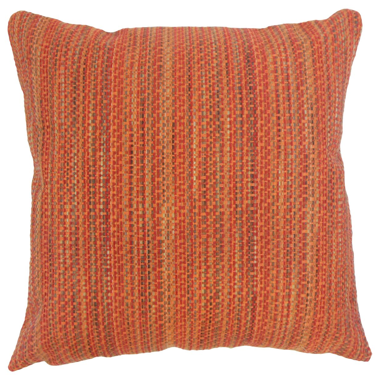Raith Throw Pillow Color: Tamale, Size: 24