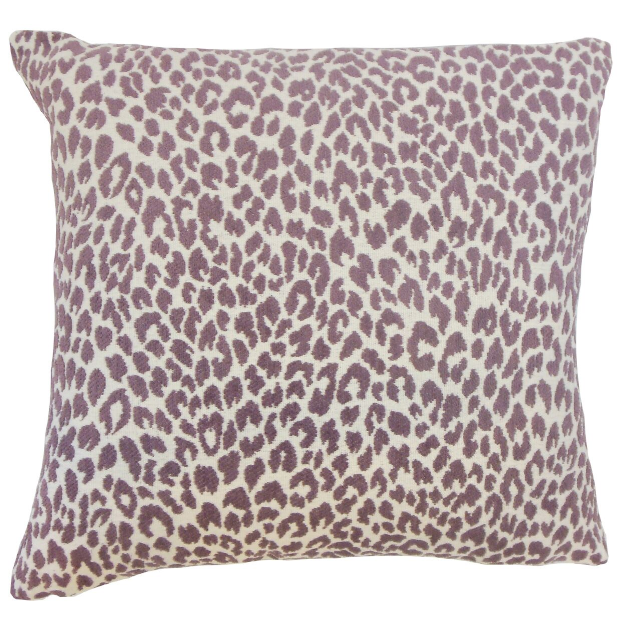 Pesach Animal Print Bedding Sham Size: Euro, Color: Orchid