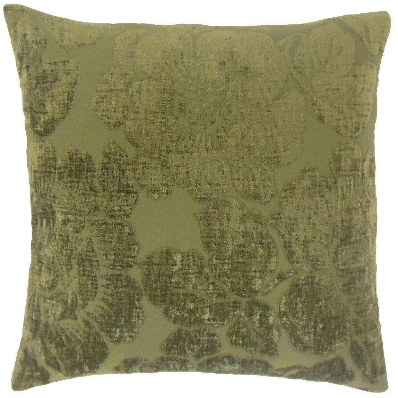Sarafina Throw Pillow Color: Linen, Size: 22