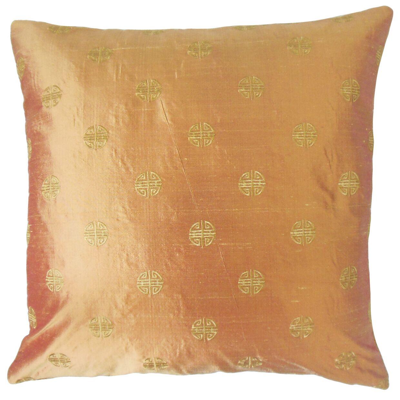 Pasquale Geometric Cotton Throw Pillow Size: 20