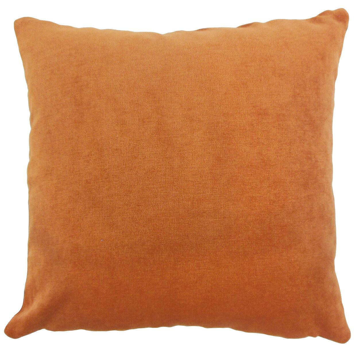 Xyla Throw Pillow Color: Ginger, Size: 22