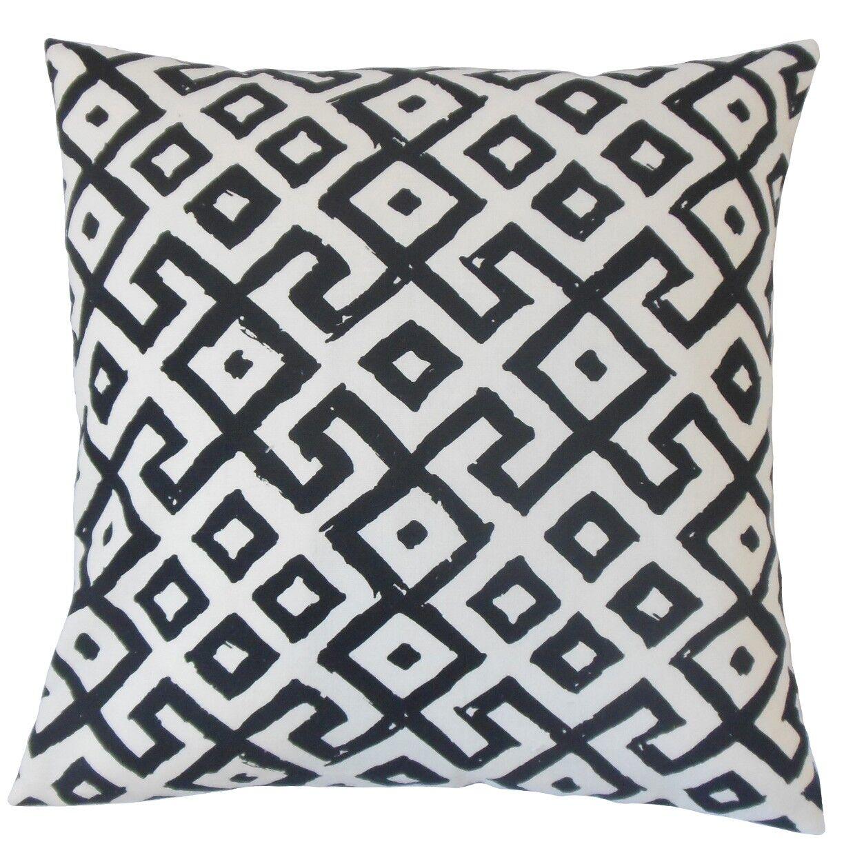 Rizwan Cotton Throw Pillow Size: 20