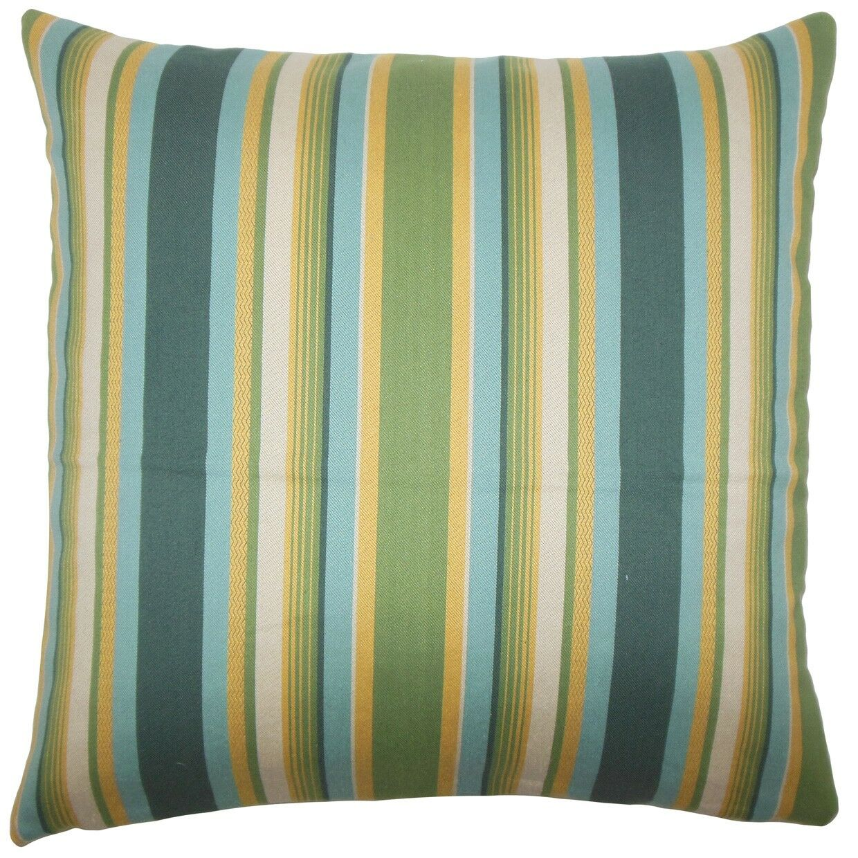Tefo Striped Throw Pillow Color: Cabana, Size: 24