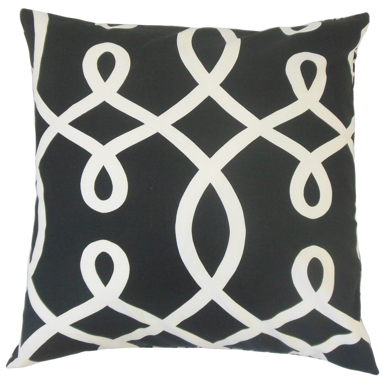 Precia Geometric Cotton Throw Pillow Size: 22