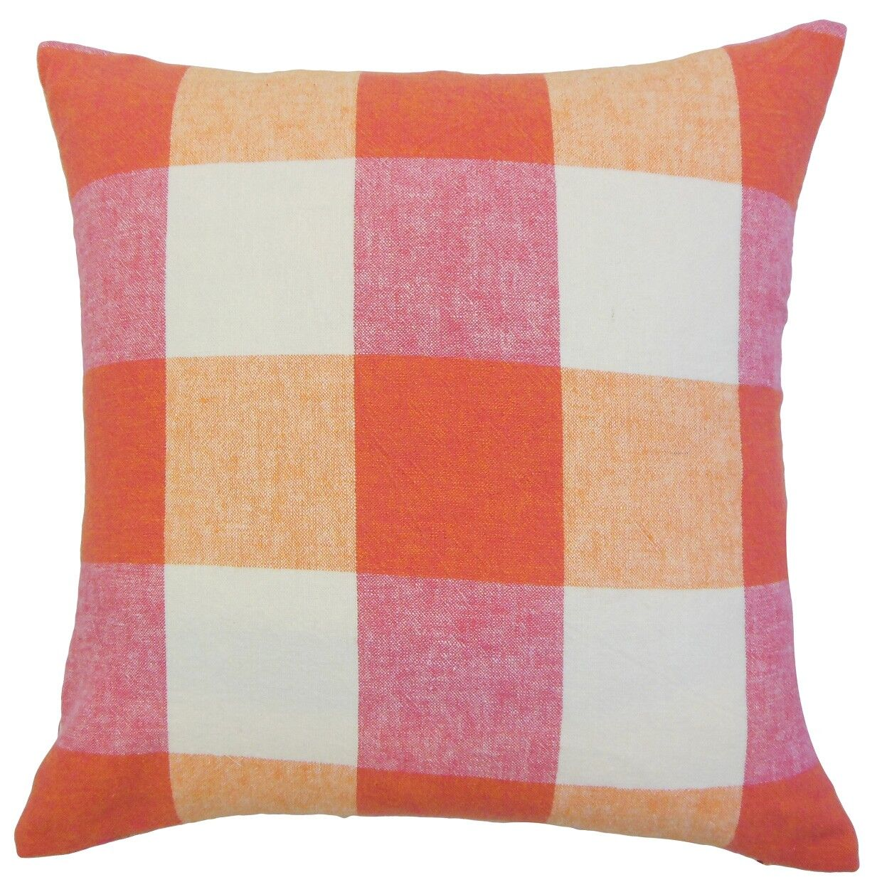 Amory Plaid Bedding Sham Color: Berry, Size: Queen