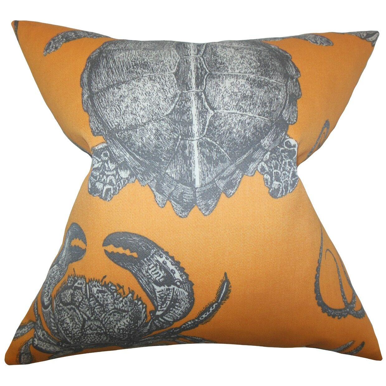 Aeliena Coastal Throw Pillow Cover Size: 20