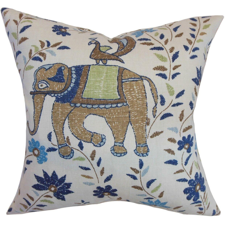 Carna Cotton Throw Pillow Size: 20