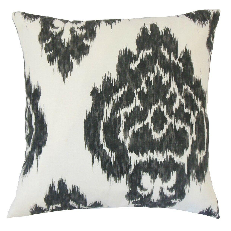 Mahendra Ikat Cotton Throw Pillow Size: 20
