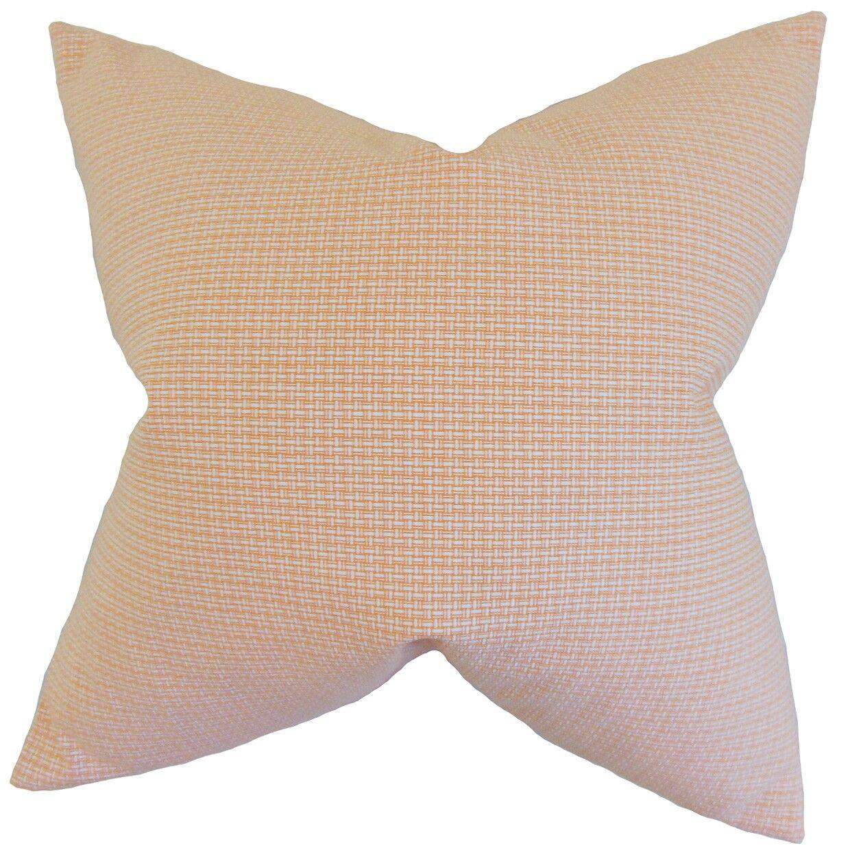 Hye Cotton Throw Pillow Size: 22