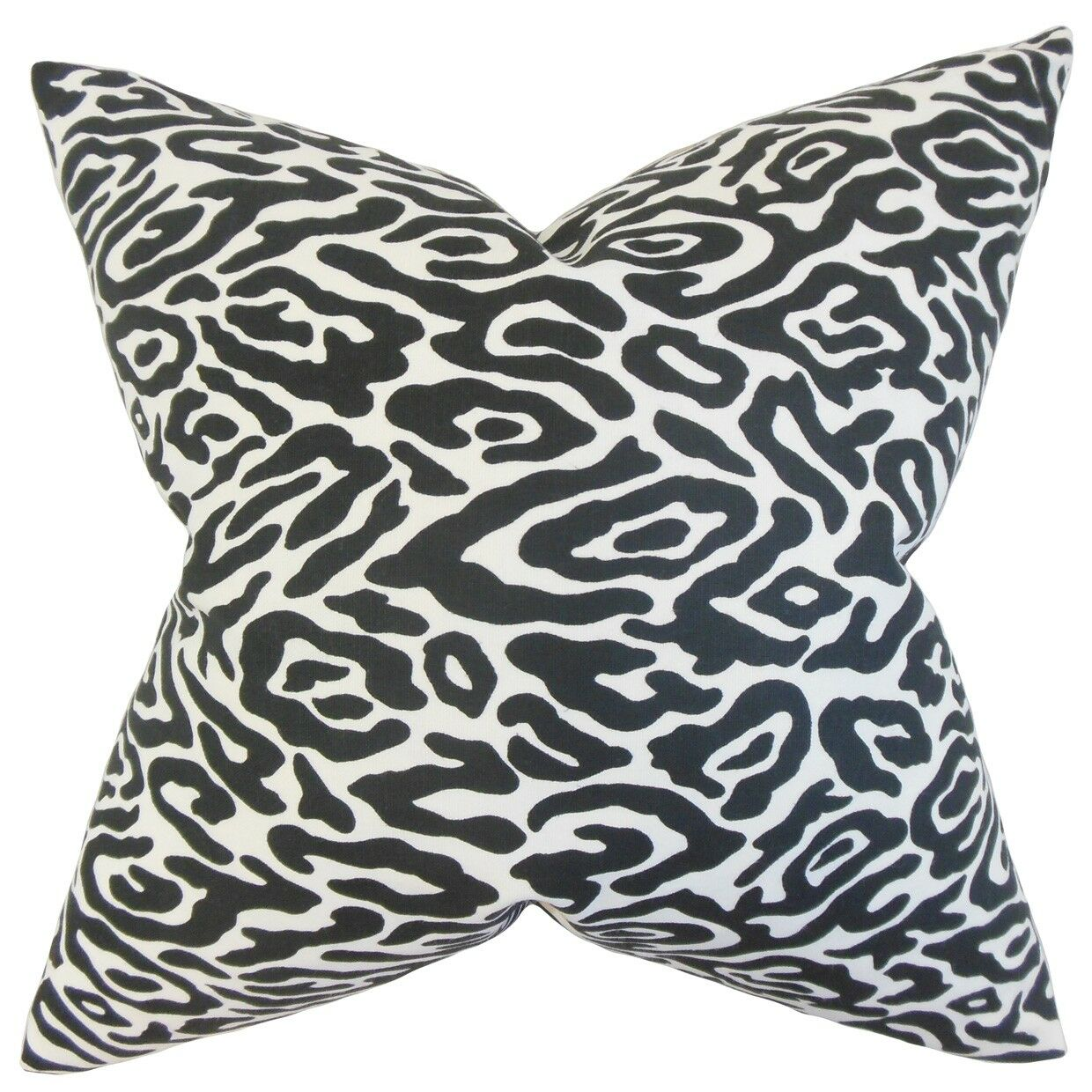 Bevin Geometric Cotton Throw Pillow Size: 22