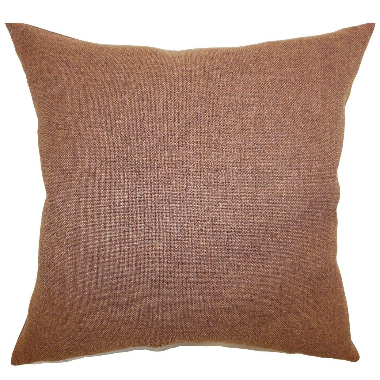 Thaliard Plain Throw Pillow Size: 18