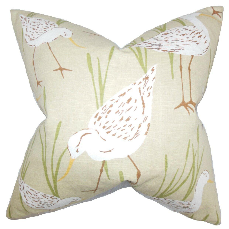 Agapi Animal Print Throw Pillow Size: 24