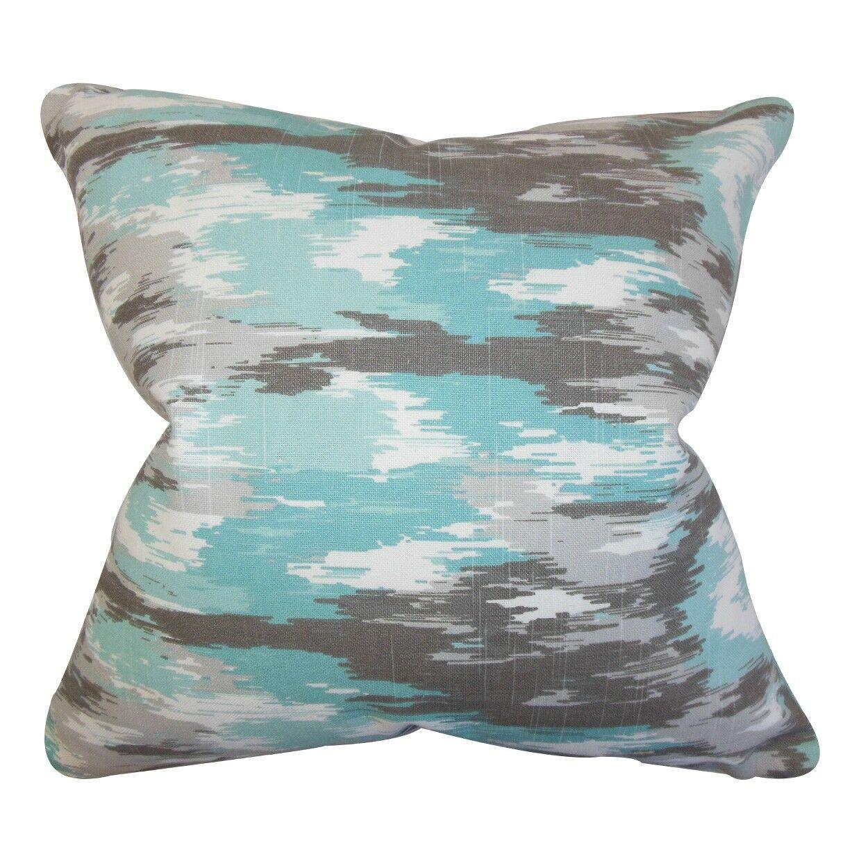 Ishi Ikat Throw Throw Pillow Size: 24