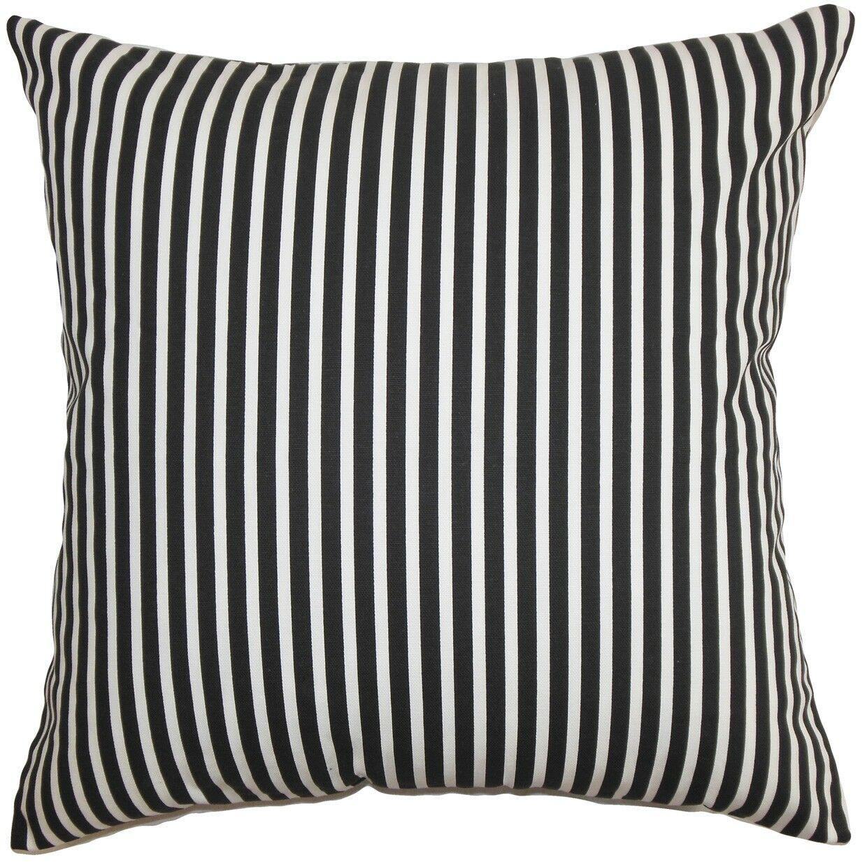 Elvy Cotton Throw Pillow Size: 24