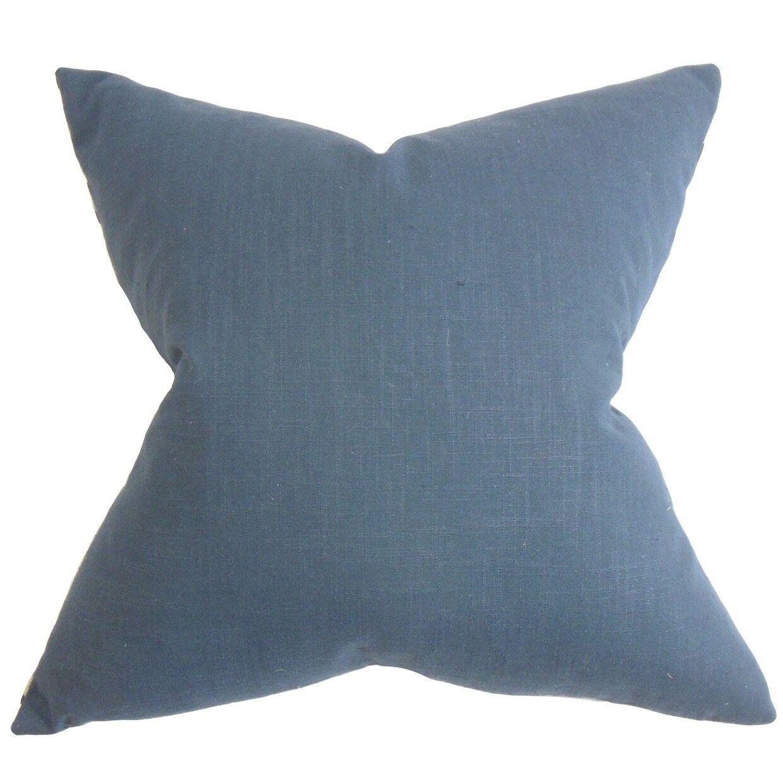 Kilpatrick Solid Cotton Throw Pillow Size: 20