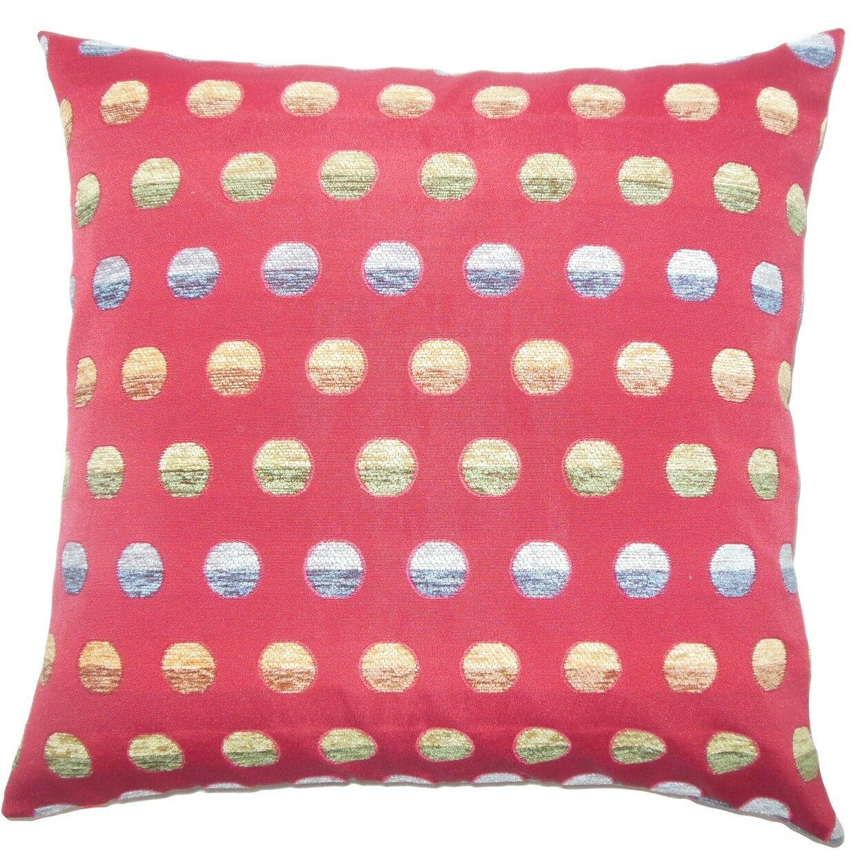 Vlora Polka Dots Throw Pillow Size: 20