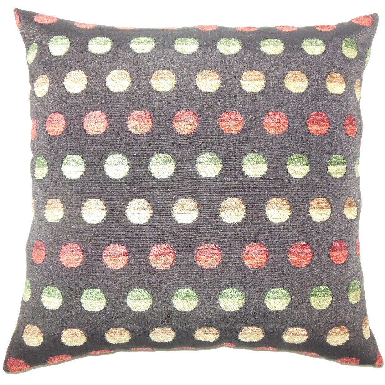 Vlora Polka Dots Throw Pillow Color: Multi, Size: 24