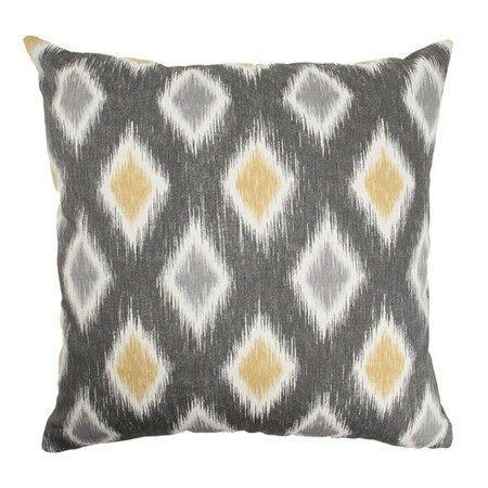 Faela Geometric Bedding Sham Color: Graphite, Size: Queen