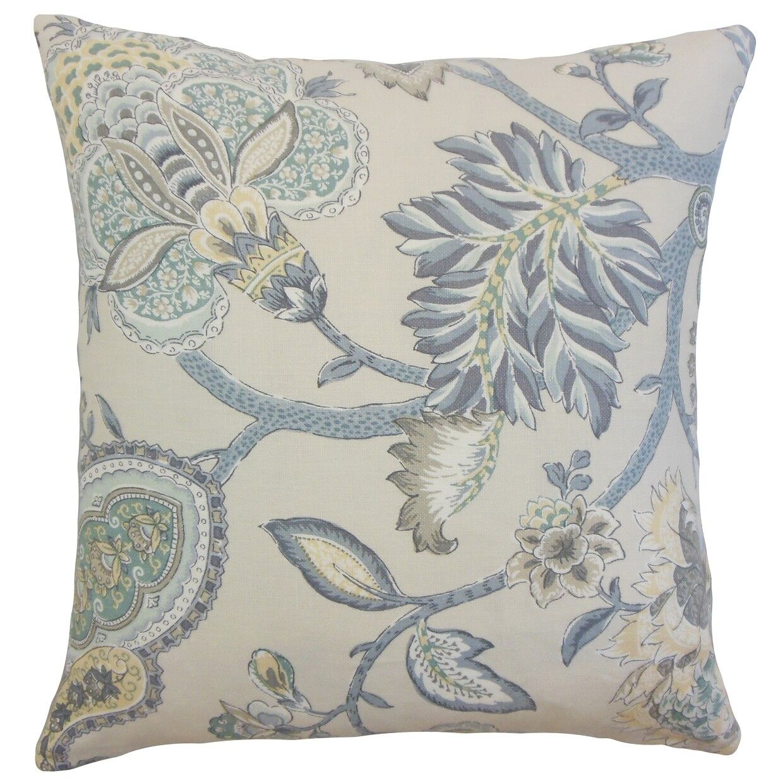 Liora Floral Throw Pillow Size: 20